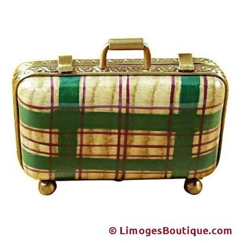 SMALL SUITCASE LIMOGES BOXES