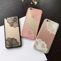 Iphone 6/6s Hot Deal Stylish On Sale Cute Korean Lace Floral Iphone Apple Relief Sculpture Phone Case [8268059911]