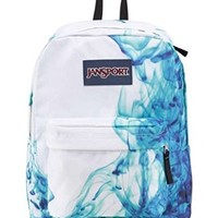 "JanSport Superbreak Backpack - Multi/Blue Drip Dye / 16.7""H x 13""W x 8.5""D"