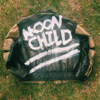 Moon Child Biker Jacket