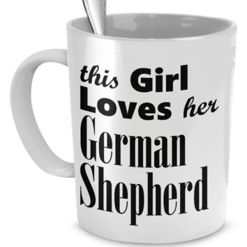 German Shepherd Dog - Mug cm-german-shepherd-dog