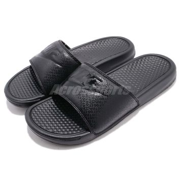 Nike Benassi JDI Just Do It Black Men Women Sports Sandal Slides 343880-001