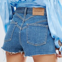 Majorelle Kate Denim Shorts at asos.com