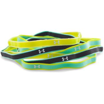 Under Armour Women's UA Mini Headbands 6-Pack