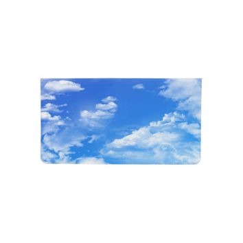 Clouds Checkbook Cover