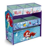 LicensedCartoons.com: Little Mermaid Multi Bin Orgainizer