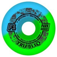 Spitfire F1 Parkburner Trujillo Psyclone 50-50 Conical Wheels  54mm 98a (set of 4)