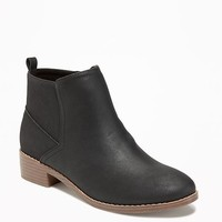 Faux-Suede Booties for Girls | Old Navy