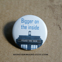 Tardis Blue Police Box Time Travel Doctor Who by MonsterBrand