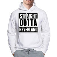 Peter Pan Inspired Straight Outta Neverland Disney Hoodie -tr3 Hoodies for Man and Woman