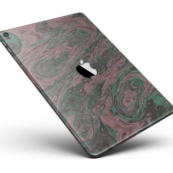 "Green Slate Marble Surface V46 Full Body Skin for the iPad Pro (12.9"" or 9.7"" available)"