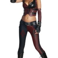 Batman Arkham City Secret Wishes Sexy Harley Quinn Costume:Amazon:Clothing