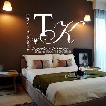 Customer-made Personalized Vinyl Wall Sticker /  Home Decor