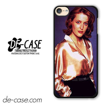 Agent Dana Scully DEAL-374 Apple Phonecase Cover For Ipod Touch 6