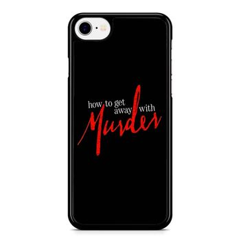 How To Get Away With A Murderer iPhone 8 Case