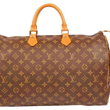 Louis Vuitton Monogram 4287 Canvas Speedy 40 Weekend/Travel Bag (Authentic Pre-owned)