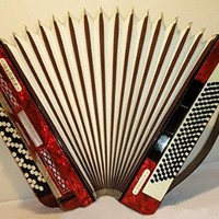 5 Row Firotti Eroica 120 Bass. Fine Chromatic German Button Accordion Bayan 200