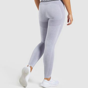 ad5c7be5ea6ffa Gymshark Flex High Waisted Leggings - Blue/Grey