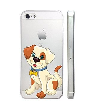 Dogs Slim Iphone 5C Case, Clear Transparent Iphone 5C Hard Cover Case For Apple Iphone 5C -Emerishop