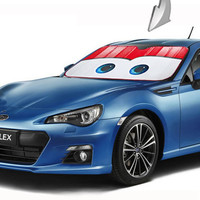 Foldable Cartoon Car Windshield Visor Cover Front Rear Block Window Sun Shade