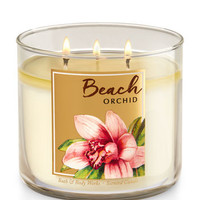 Beach Orchid 3-Wick Candle | Bath And Body Works