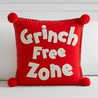 Grinch™ Free Zone Pillow Cover