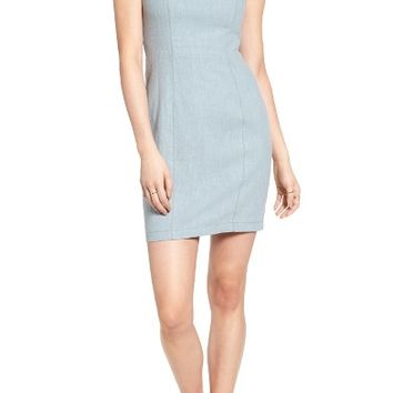 ASTR the Label Linen Minidress | Nordstrom