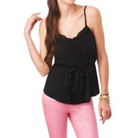 Solid Belted Cami