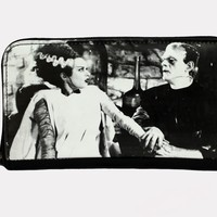 "The Bride of Frankenstein ""We Belong Dead"" Zip Around Wallet"