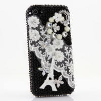 Paris Eiffel Tower with Lace Design (style 478)