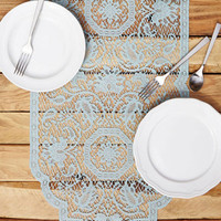 ModCloth French A Lace for Everyone Table Runner