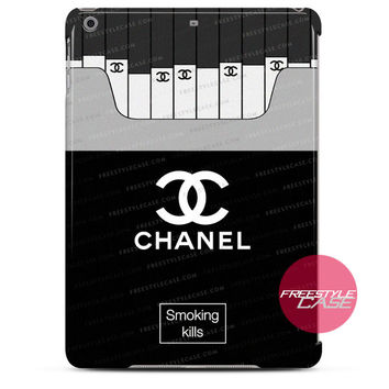 Chanel Coco Smoking Kills iPad Case 2, 3, 4, Air, Mini Cover