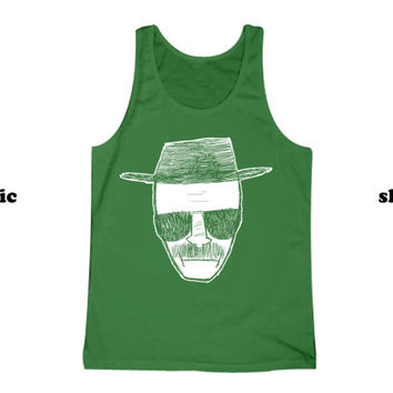 Breaking Bad Tank Top | Thug Life Heisenberg Tanktop | Funny TV Clothing