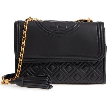 Tory Burch Small Fleming Leather Convertible Shoulder Bag | Nordstrom