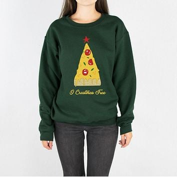 O Crustmas Tree Crewneck Sweatshirt