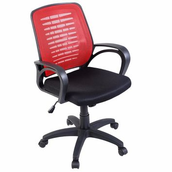 Goplus Modern Ergonomic Mesh Mid-Back Executive Computer Desk Task Office Chair