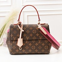 Louis Vuitton LV New Fashion Monogram Check Leather High Quality Women Shoulder Bag Handbag
