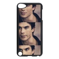 Ian Somerhalder Damon Salvatore in The Vampire Diaries IPod Touch 5th Case Back Case for IPod Touch 5th