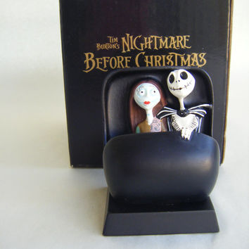 Jack Skellington and Sally Haunted Mansion Doom Buggy Collectible Figurine  Disneyland Nightmare Before Christmas Tim Burton