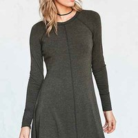 BDG Outfield Long-Sleeve Sweatshirt Mini Dress - Urban Outfitters