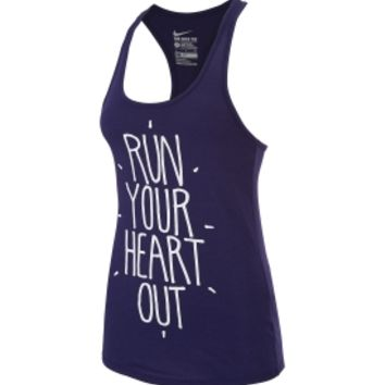 Nike Women's Run Your Heart Out Running Tank Top | DICK'S Sporting Goods