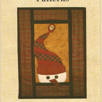 Hooper Creek Quilt Pattern LeRoy Snowman Wall Hanging