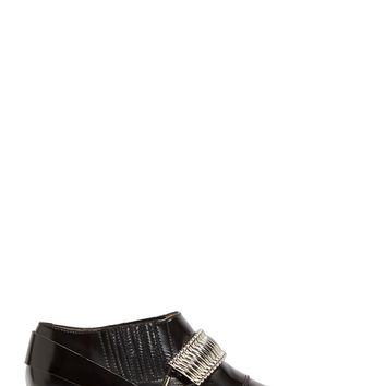 Toga Pulla Black Western Polido Ankle Boots