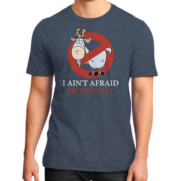 Bill murray cubs shirt - I Ain't Afraid Of No Goat Shirts District T-Shirt (on man)