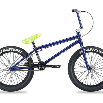Eastern Traildigger Purple/YellowSeat Complete BMX Bike