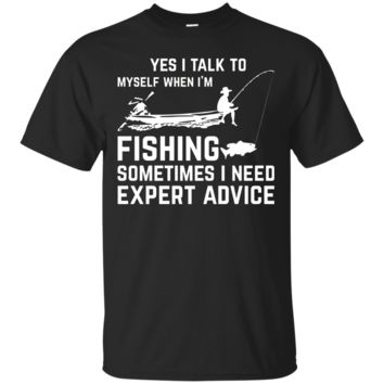 Mens Funny Fisherman Attitude T-shirt Mens Fishing Humor Gift