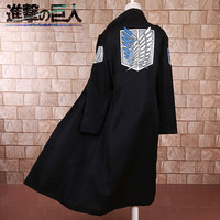 Good Quantity Japanese Anime Shingeki no Kyojin Attack on Titan Cosplay Costume Dust Coat