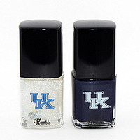 Rumble Cosmetics University of Kentucky Wildcats Kentucky Nail Polish