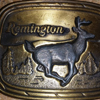 Vintage Remington Belt Buckle