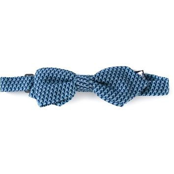 Fefè illusion patterned bow tie